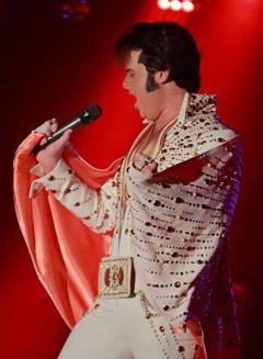 Nick Perkins to perform @ 2019 Elvis Birthday Bay @ Weston Lanes