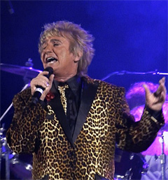 Steve Bobbitt as Rod Stewart @ the 2019 Legends Event @ Weston Lanes
